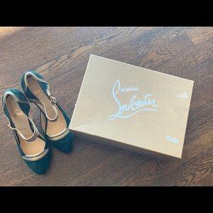 New in Box Christian Louboutin Platform Heels 38